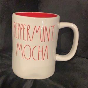 NWT Rae Dunn RARE mug Peppermint Mocha LL HTF